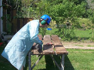 nettoyage vieux bois