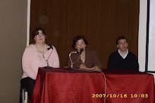 Foto tomada en la última reunión del Consejo Consultivo Provincial 2007