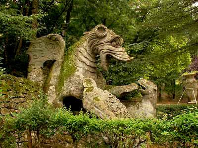 N de operario 1588 el jard n de los monstruos for Jardines de bomarzo