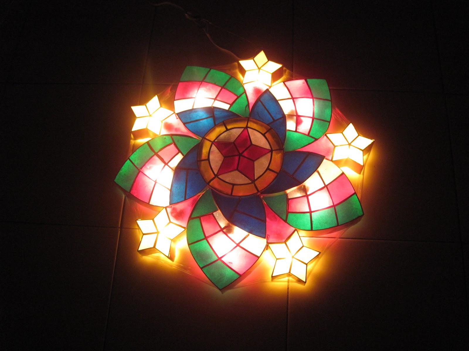 latest capiz lantern design