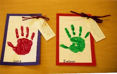 first+day+handprints - First Day Of Kindergarten Activities