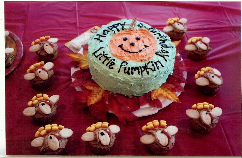 Turkey Birthday Cake Images