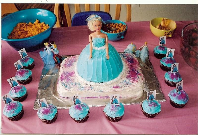 Cinderella Doll Birthday Cake Ideas