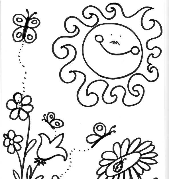 Dibujos para colorear de las Estaciones del año: Dibujo de la ...