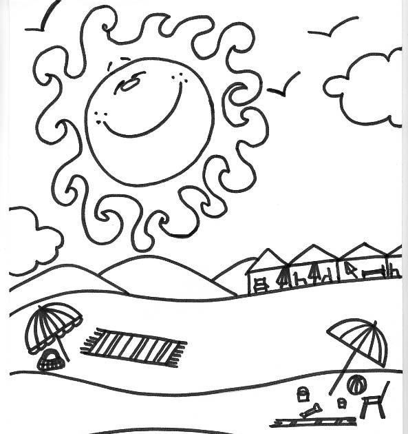 Dibujos Para Colorear De Las Estaciones Del Año: Dibujo