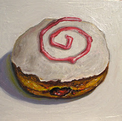 Small Still Life Series-Jelly Donut