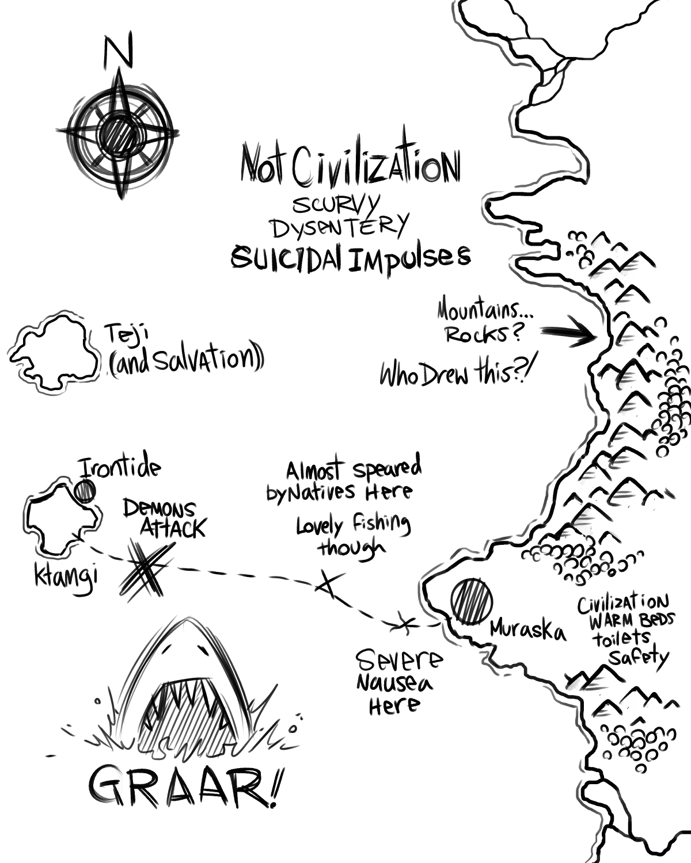 Huck Finn Adventure Map – Daily Motivational Quotes