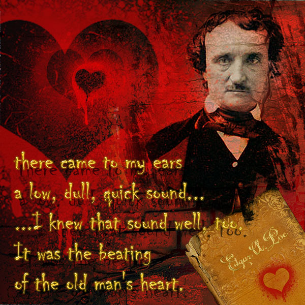 Tell Tale Heart Quotes: Just Another Volunteer: 4 X 4 Friday--Poe--The Telltale Heart