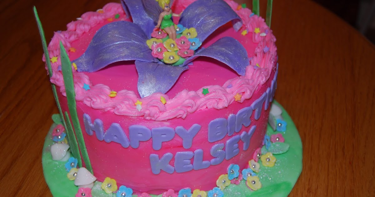 JLP Cakes: Tinkerbell And Cookie Monster