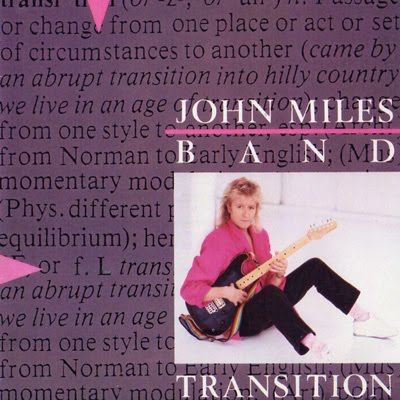 JOHN MILES BAND Transition CD
