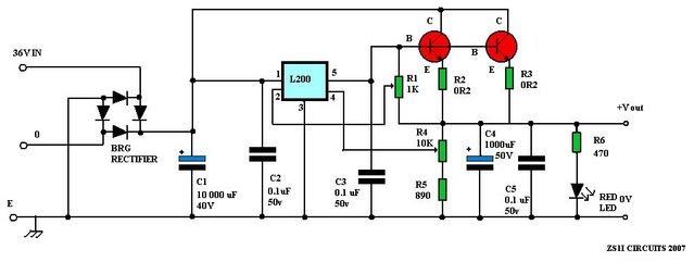 l200 power supply