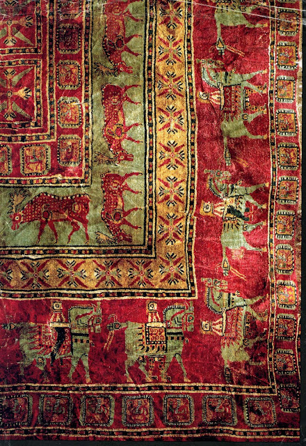 Brandon Oriental Rugs The Pazyryk Rug Proves That Real