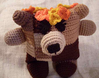 fudgie the flowerumi bear pattern
