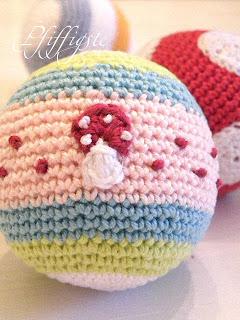 Pfiffigstes Häkelblog Ball Babyball Im Fliegenpilzkleid