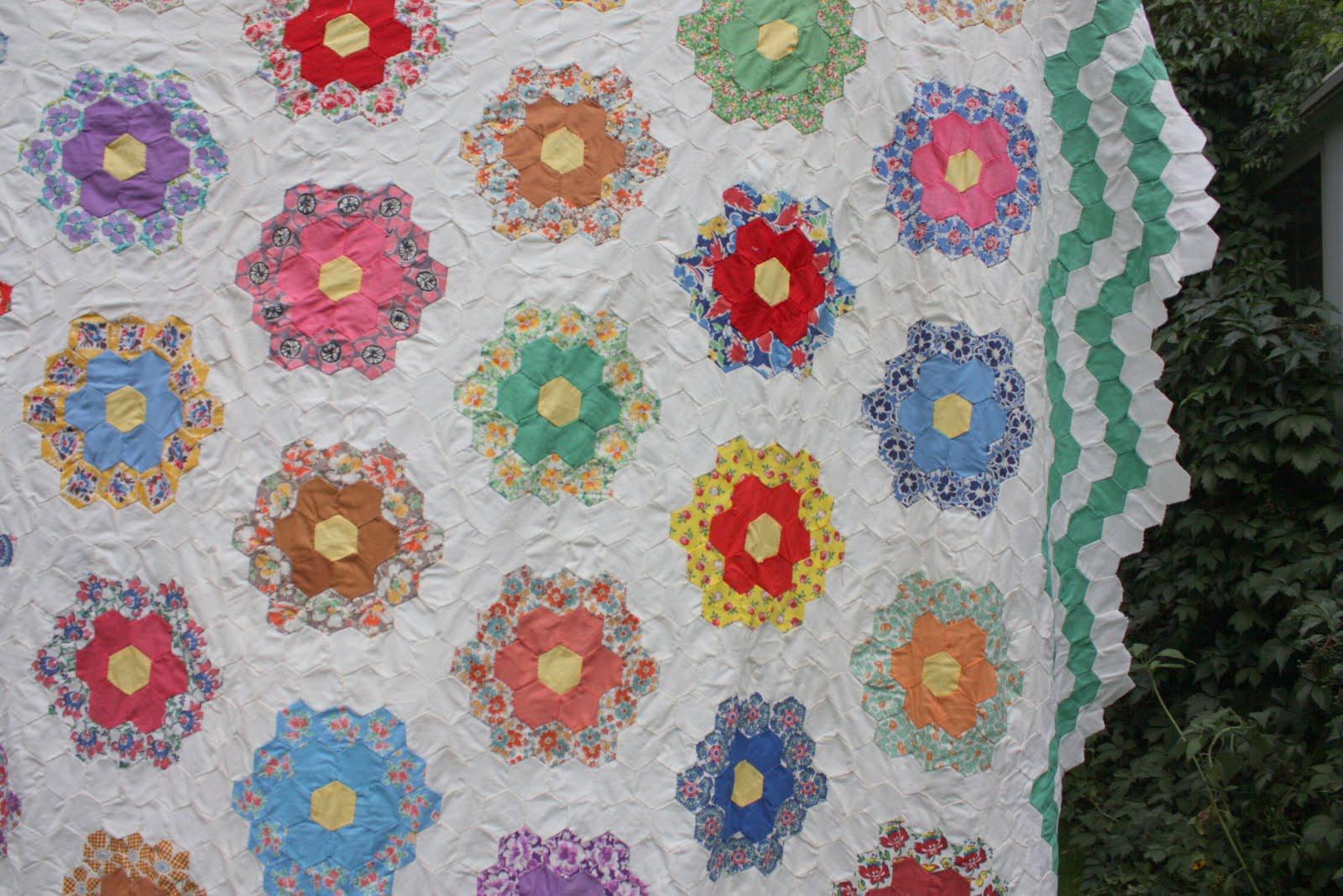 Quilt Pattern Flower Garden