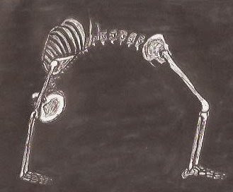 heavy metal yogi yoga skeleton 7