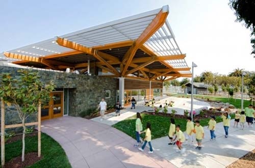 Orange Memorial Park Building by Marcy Wong & Donn Logan Architects