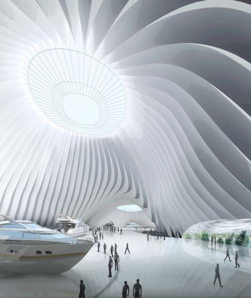 Architecture-Design-of-Taichung-Convention-Center-by-MAD-Architects