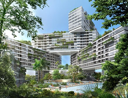 Great Architecture Interlace in Singapore by OMA and Partner