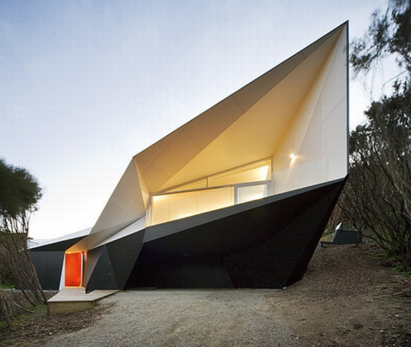 Unusual Home Design-The Klein Bottle House by Charles Mcbride