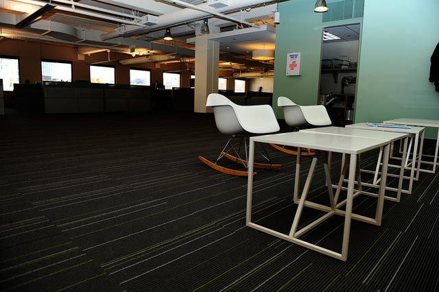 Interior Design,New Twitter Headquarters by Sara Morishige Williams, office design