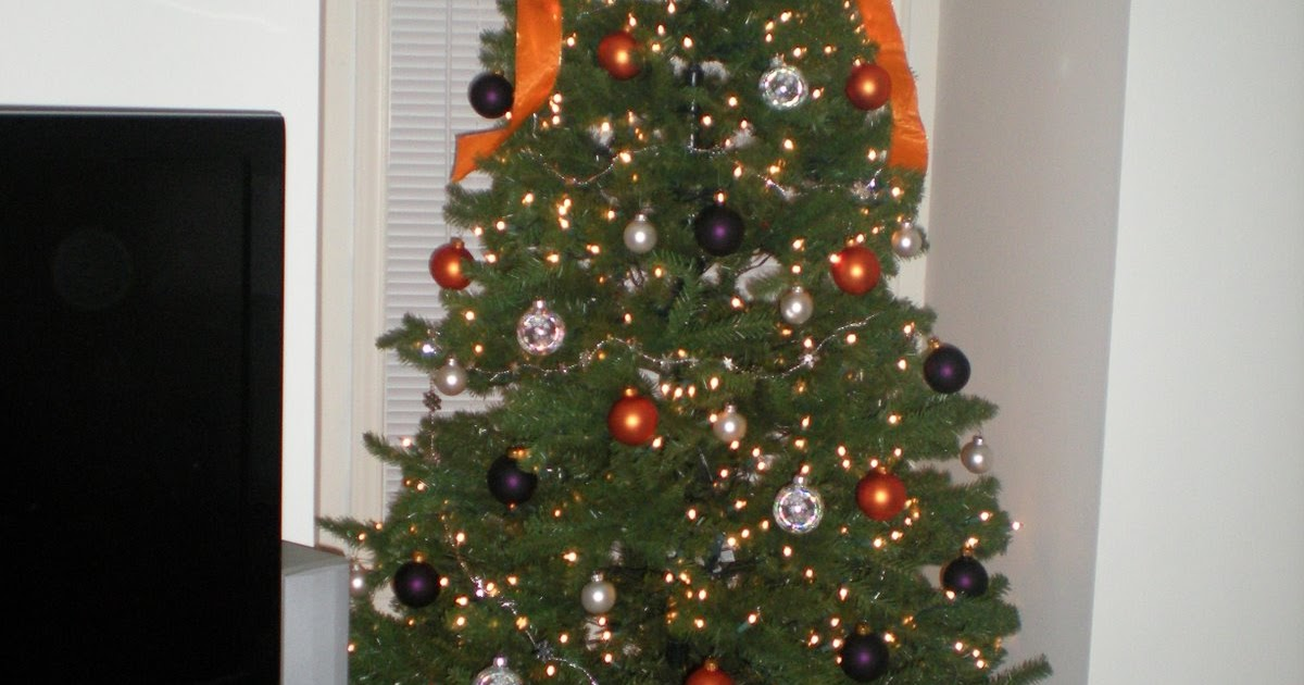 The Warner Family: It's A Clemson Christmas Tree