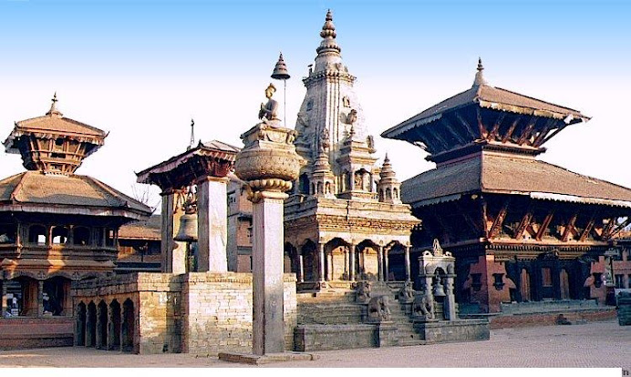 Historical view of Kathmandu - A city of many Temples
