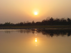 Sunrise in Chitwan National Park