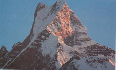 Close view of Mt. Fishtail