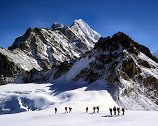 Mountaineering in Himalayas