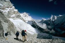 While climbing Mt. Tashi Lakpa