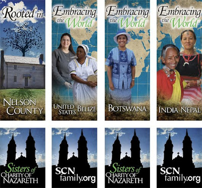 New Banners at Nazareth Highlight Where SCNs are in the World