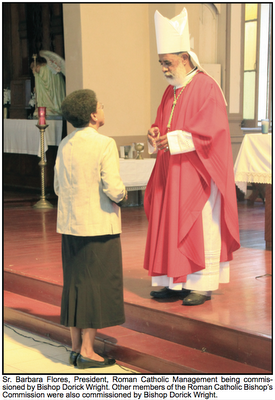 Barbara Flores, SCN, President of Catholic Education Appointed in Belize