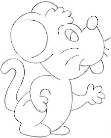 Dibujos Para Colorear Dibujos Para Colorear Raton