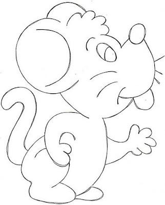 Dibujos Para Colorear Dibujos Para Colorear Ratón