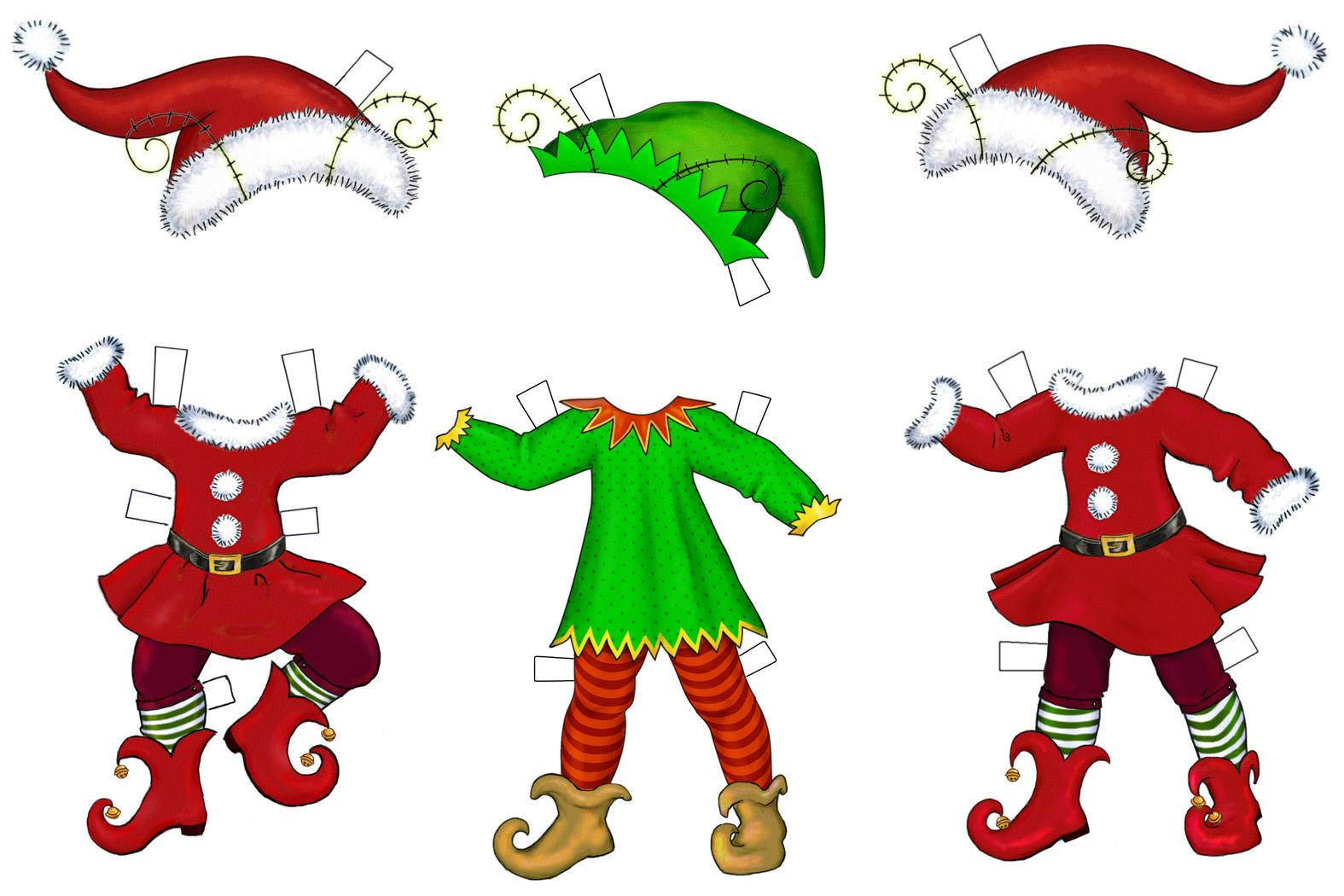 happy elf clipart - photo #28