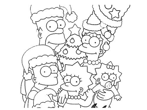 Dibujos Para Colorear: Dibujos De Navidad Para Pintar