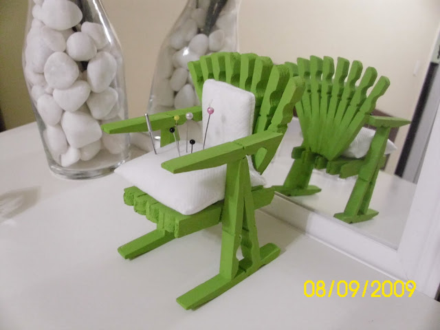 Cadeira alfineteiro