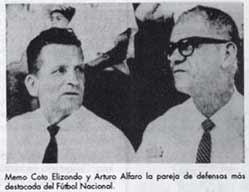 Arturo Cachacha Alfaro Salas junto a Guillermo memo coto