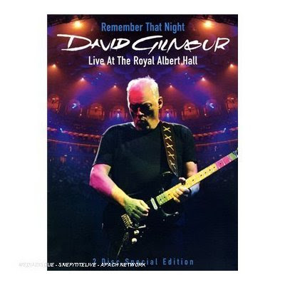 david gilmour rememver that night dvd