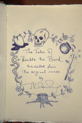 les contes de beedle le barde J.K. Rowling