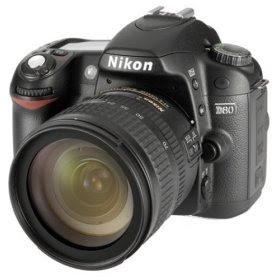 Nikon D80 - Kit appareil photo reflex numérique 10,2 MP avec objectif AF-S DX 18-70