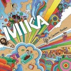 mika life in cartoon motion album de l annee 2007