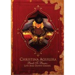 christina aguilera live down under concert dvd album