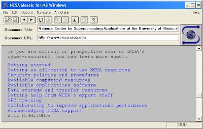 Le premier navigateur Web (ou
