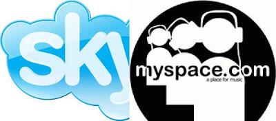 myspace et skype alliance internet