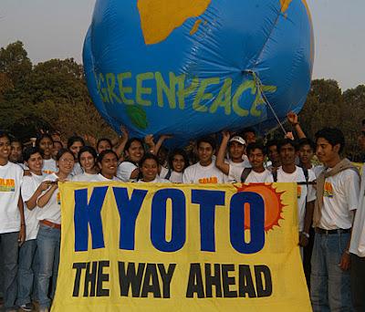 protocole de kyoto changement climatique