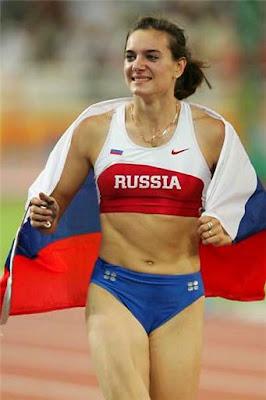 Beautiful Yelena Isinbayeva