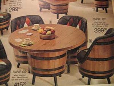 World O Heathcliff Barrel Furniture