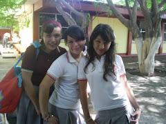 Chuyita (itap), Maria Fernanda(Pelancha) y Lucero (Trucero)